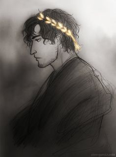 Lucius (head-canon name for Ancient Rome) - Art by stirringwind.tumblr.com