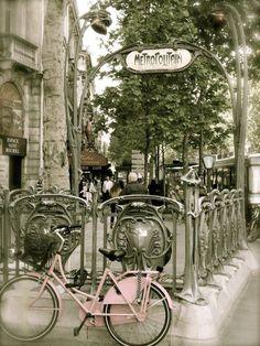 Vélo ou métro?