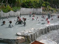 Turkish mud bath, Dalyan, Turkey... On the Beach deals to Turkey at https://www.onthebeach.co.uk/destinations/turkey