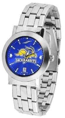 South Dakota State Jackrabbits Dynasty AnoChrome Men's Watch by SunTime. $86.95. Elegant design for the modern man who wants to show their South Dakota State Jackrabbits spirit! The dial is presented in a sleek, stainless steel case and bracelet that rests fashionably yet comfortably across the wrist. Features a convenient date display, quartz accurate movement and a scratch resistant mineral crystal face.The AnoChrome dial option increases the visual impact of any watch with...