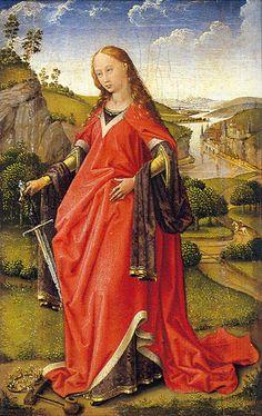 Rogier van der Weyden (Flemish, 1400-1464) - Saint Catherine of Alexandria