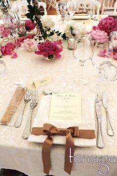 Déco de table mariage by Tanaga ambiance designer
