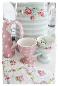 Egg cups...pretty