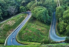 Quezon Province, Zig zag Road