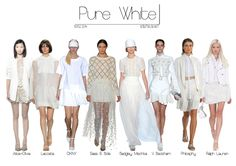 Trend Report: All White [SS14]