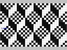 Diagram Senjalester/Latviske lester Table Runner Pattern, Fair Isle Pattern, Loom Beading, Pixel Art, Diagram, Tapestry, Stitch, Knitting, Fair Isles