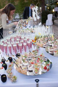 Repas Buffet: 12 inspirations pour un mariage champêtre