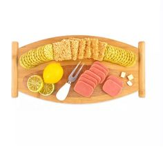Refined-bam Long Multifunctional Bamboo Serving Tray - Buy Bent Wood Serving Tray,Snack Serving Tray Product on Alibaba.com