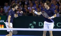 The Murray brothers came through in four sets to keep the semi-final with…