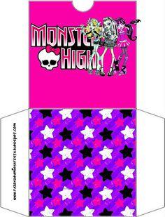 Monster High: imprimibles gratuitos.