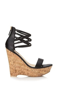 Bombshell Strappy Wedges | FOREVER 21 - 2000072251