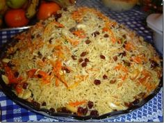 Afghani rice is also known as kabuli pulao and it is very famous in Afghan cuisine. This recipe is taught by Rida Aftab in her famous program tarka. Middle East Food, Middle Eastern Recipes, Afghan Food Recipes, Indian Food Recipes, Lamb Dishes, Rice Dishes, Afghani Rice Recipe, Recipe Recipe, Risotto