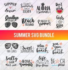 Summer Vacation Quotes, Family Vacation Shirts, Summer Quotes, Beach Quotes, Beach Words, Christmas T Shirt Design, Word Design, Beach Shirts, Good Jokes