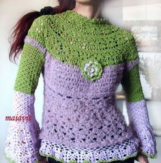 crochet moda fashion