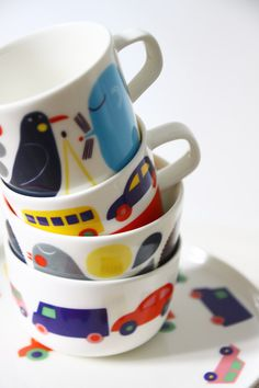 Marimekko Simple Designs, Cool Designs, Ceramic Cups, Marimekko, Contemporary Decor, Scandinavian Design, House Colors, Kitchenware, Tableware