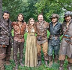 The Musketeers - Series II BtS (2x08; The Prodigal Father) via Amanda Wass on Instagram