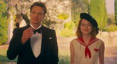 Watch Emma Stone predict the future in the trailer for Magic in the Moonlight