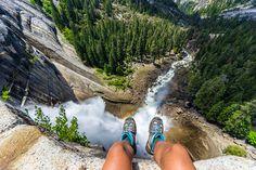 Pursue the fear!..Hiking Yosemite National Park, Photo by Tiffany Nguyen