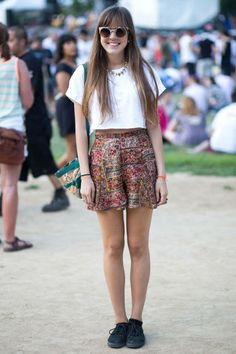 Top: Urban Outfitters Shorts: Vintage