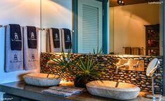 Pebble Tiles, Pebble Stone, Stone Mosaic, Mosaic Tiles, Stone Bathtub, Stone Sink, Interior And Exterior, Interior Design, Hotel Pool
