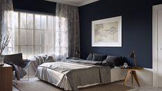 Современная спальня. Фото 41