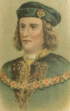 Richard III (2 October 1452 – 22 August 1485) was King of England from 1483 until his death. He was the last king of the House of York and the last of the Plantagenet dynasty. His defeat at the Battle of Bosworth Field was the decisive battle of the Wars of the Roses, and is sometimes regarded as the end of the Middle Ages in England. He is the central character of a well-known play by William Shakespeare.