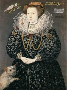 Elizabeth I, Queen of England (1589).