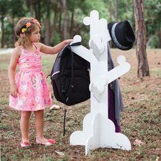P\'Kolino Little Ones Clothes Tree - White #clothestree #pkolino #oliverthomas #kidsfurniture #kidsdecor #kidsroom #nursery