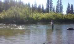 A great day fishing fly fishing in Alaska