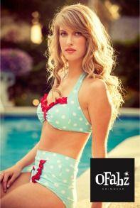 98508db95d01b 1950 s Full Set Tutorial. Cute Bathing SuitsVintage BikiniVintage SwimsuitsCute  ...