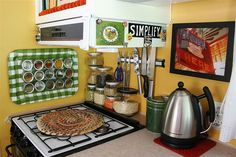 decorating ideas for campers | Haven at Home on Wheels - RV Living / Decorating ideas for the RV