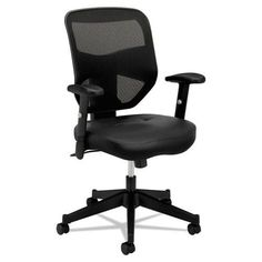 basyx by HON HVL531 Mesh High-Back Task Chair in Black
