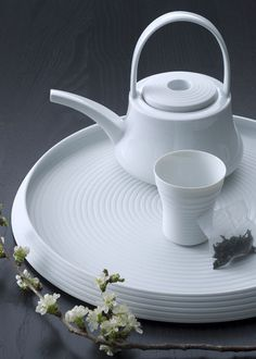 Hering Berlin Pulse tea set, 6 pieces