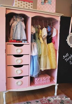 Operation Organization: Organized Dress Up Costumes and Doll Clothes | 11 Magnolia Lane