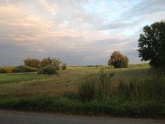 Landschaft bei Woldegk in Mecklenburg-Vorpommern.