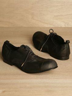 Comme des Garcons Homme Plus / Men's Patchwork Lace-up Shoes