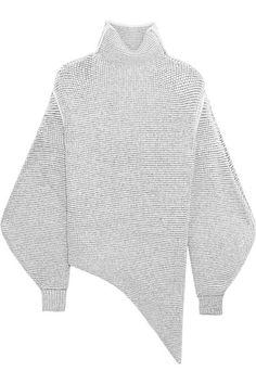 Stella McCartney   Oversized stretch wool-blend bouclé sweater   NET-A-PORTER.COM