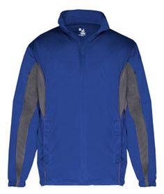 Badger Drive Youth Jacket B2703 Royal/ Graphite