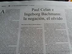 #Diadelamujer #IngeborgBachmann #PaulCelan #RomeroBarea para @MondeDiploEs @IRamonet @masleer @libreriaprimera