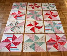 "Another ""Pinwheels in the Park"" Quilt"