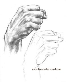 Anatomy Drawing Tutorial Tutorial dibujando manos posiciones, anatomia, forma, tutorial gratis curso online how to draw hands drawing draw dibujo lapiz dedos - Anatomy Sketches, Anatomy Drawing, Anatomy Art, Art Sketches, Human Figure Drawing, Body Drawing, Life Drawing, Drawing Hands, Drawings Of Hands