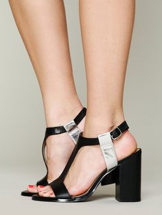 Kelsi Dagger Brooke T-strap Heel at Free People Clothing Boutique