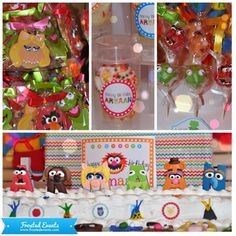 Muppet theme first birthday party by Frosted Events @frostedevents     #kidsparty #muppets #birthday