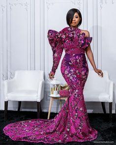 Aso Ebi Lace Styles, Ankara Long Gown Styles, Lace Gown Styles, Ankara Styles, African Lace Dresses, African Dresses For Women, African Fashion Dresses, Ankara Fashion, Second Wedding Dresses