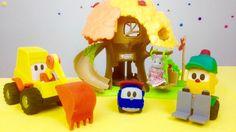 Video per bambini. Lifty, Leo e Max costruiscono un parco giochi per bam...