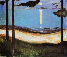 Moonlight - (Edvard Munch)