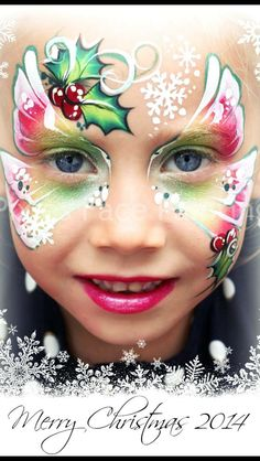415 best face paint christmas ideas images in 2019  face