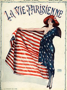 Faithful @29 1910 Vtg French La Vie Parisienne Art Deco Fashion Erotic Leonnec