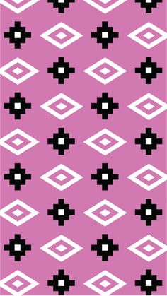 Modern Aztec Wallpaper from All Things Pretty Design. Click here for 2 other color options to download for FREE!