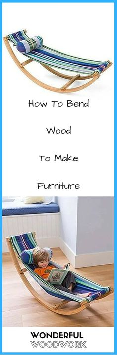 How To Bend Wood To Make Furniture: vid.staged.com/w4Qs #WoodcraftPlans